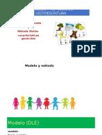 1 - Lectoescritura - Modelos y Métodos