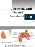 10- Nose, Mouth, And Throat