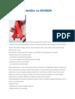 Ingrijirea Pacientilor Cu HIV