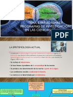 Tema 5 Paradigmas y Programas de Investigación