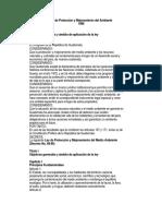 4. Ley de Proteccion y Mejoramiento Al Medio Ambiente Decreto 68-86