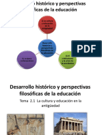 Tema-2-1 La Cultura y Educación en La Antigüedad