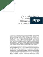 Nancy Fraser, De la redistributin al reconocimiento Dilemas de la justicia en la era postsocialista, NLR I-212, July-August 1995.pdf