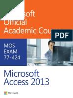 MOAC Access 2013