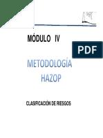 Modulo IV Hazop