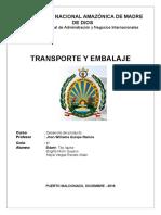 Transporte y Embalaje