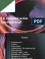 A La Comunicación Intercultural