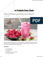 Probiotic Shake