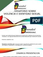 Conversatorio Sobre Violencia e Identidad Sexual