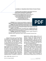 [Romanian Journal of Internal Medicine] Depression and Hypothyroidism in a Population-Based Study of Iranian Women