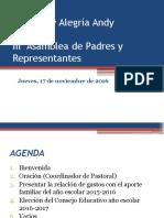 i Asamblea de Padres y Representante 16-17 (07-10)