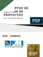 1. Conceptos de Gestion de Proyectos