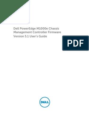 Poweredge-m1000e User's Guide en-us | Active Directory | Ip