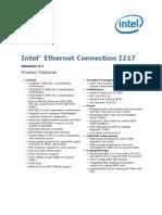 i217 Ethernet Controller Datasheet