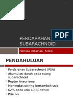 Perdarahan Subarachnoid