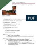 Raport Scoala Altfel - Clasa a Doua
