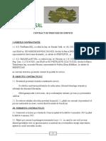 Contract de Prestari de Serviciijjjj