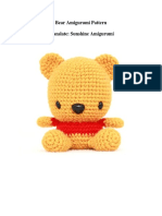 Bear Amigurumi Pattern