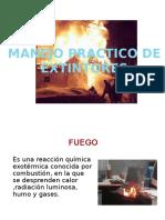 2.-Manejo Práctico de Extintores