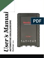 MaxiScope Usermanual - V1.00