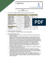 Seattle Schools BEX Oversight Committee Minutes for December 2015