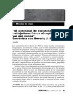 Silver, Beverly Vs149 Jacobin Entrevista - El Potencial de Resistencia de Los Trabajadores Frente Al Capital Es Mayor Que Nunca j