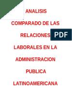 ANALISIS DEL CLAD - SISTEMA LABORAL PUBLICO.doc
