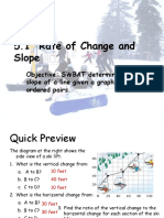 rate of change and slope  3