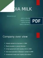 Candia Milk failed