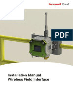 Honeywell Enraf WFI Installation Manual
