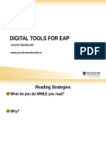 Digital Tools for EAP (Student Presentation)