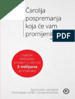 Carolija pospremanja koja ce va - Marie Kondo.pdf
