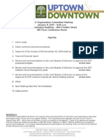 Joint Org Committe January 11, 2017 Agenda Packet