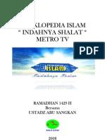 ENSIKLOPEDIA ISLAM (Bertemakan Ruhiyah, Maknyesss)