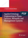 Applied Ontology Engineering in Cloud Services, Networks and Management Systems