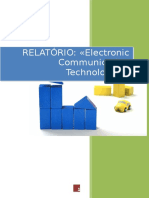 RELATÓRIO - «Electronic Communication Technologies»
