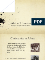 African-Liberation and Religion