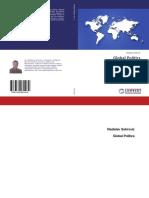 Vladislav B. Sotirovic, Global Politics, Vol. 1, 2017