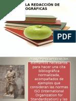 Normas de Redacción de Citas Bibliograficas