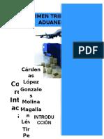 Regimen Tributario Aduanero - Marptp