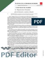 Decreto 89.2014, De 24 de Julio Madrid