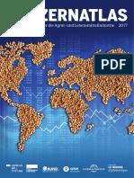 Konzern-Atlas 2017 - Wenige Konzerne regieren über 60% Lebensmittel und Landwirtschaft weltweit. Konzernatlas. Bund.net