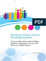 Keystones to Foster Inclusive Knowledge Societes - UNESCO 2015