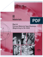 ASME Section 2A 1 II Materials PART a Ferrous Material Specifications SA 450