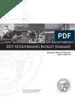 Full Budget Proposal Summary 2017-2018