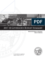 Full Budget Proposal Summary 2017-2018