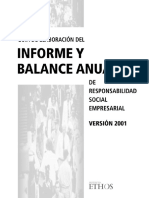 Balance Social Ethos Guia