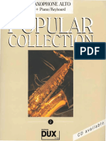 Edition Dux - Popular Collection (Arrangement - Arturo Himmer-Perez) (Volume 2) (16 Titres)
