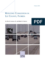 Reducing Congestion in Lee County, Florida