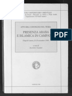 Presenza Araba e Islamica in Campania